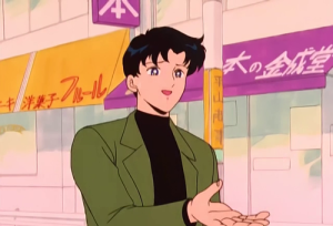 """I'm totally not Tuxedo Kamen! I don't even OWN a top hat. REALLY."""