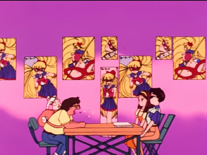 So that's how we ended up with the miniskirts. Repressed pervert directors. Gotcha