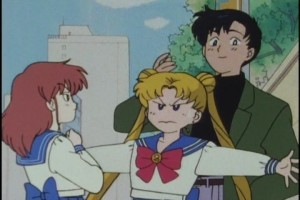 """Oh it's Usagi. Thank god, maybe they'll fight to the death over me."""