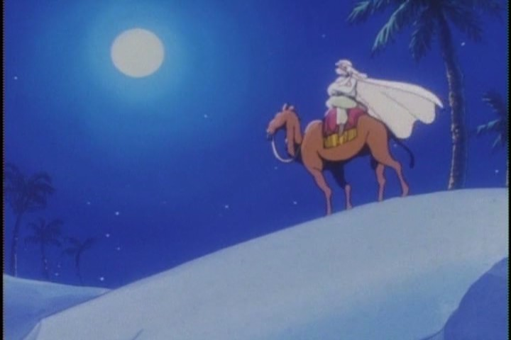 My hope is that this scene ends like the on in Empire Strikes Back, and Han Solo has to shove Moonlight Knight  inside that camel