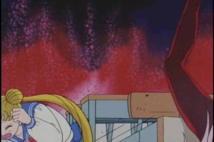Why is she so determined to take Usagi unaware? Usagi doesn't know she's Natsumi. Just grab her.