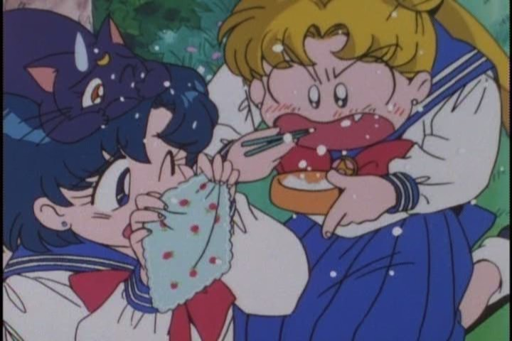 Again, she's amazing in this episode. Top form, Usagi!