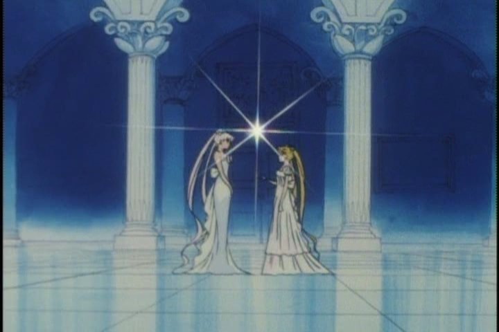 Princess Serenity and Queen Serenity