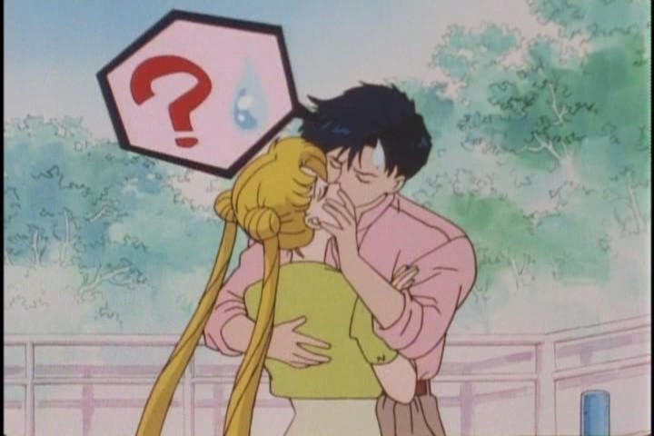 """Mamoru don't stop tonguing for NUFFINK.,"""