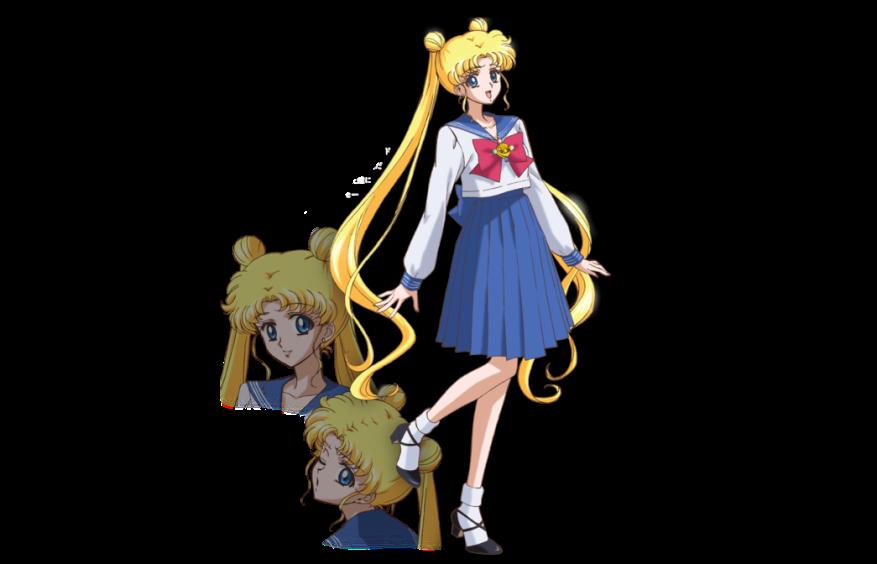 Sailor Moon Crystal - Usagi's new design