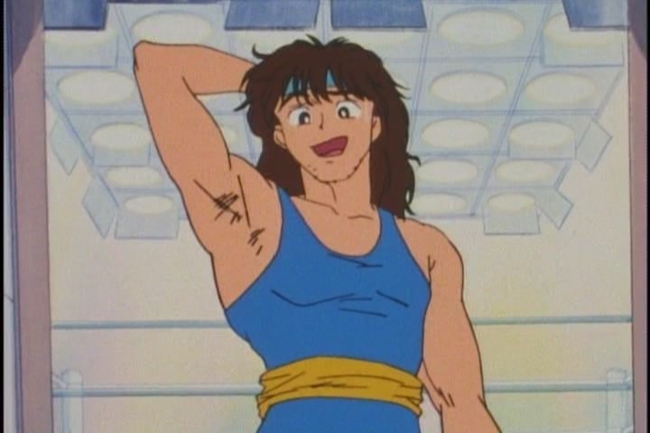 This must be the only hairy armpit in the entirety of Sailor Moon