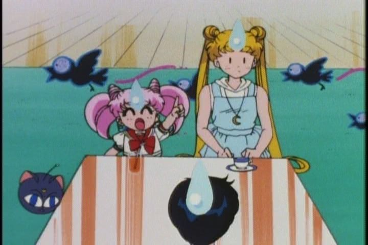 How about opening a cook book instead of just laying into Usagi at every turn, HRMMM?