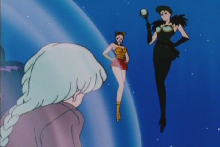 """I need someone to clear the streets of guts after I disembowel Sailor Jupiter."""