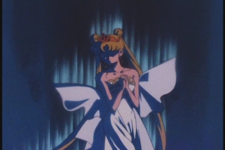Wow, she's... really elegant and shit. Are we sure this is Usagi?