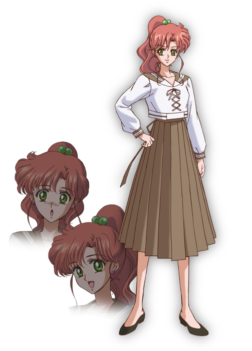 Sailor Moon Crystal - Makoto's new design