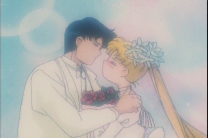 For one it doesnt end with Mamoru having to take a cold shower