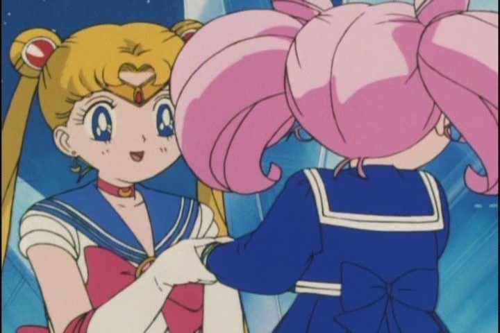 She doesnt trust Sailor Moon but shes totally willing to let her hold her hand