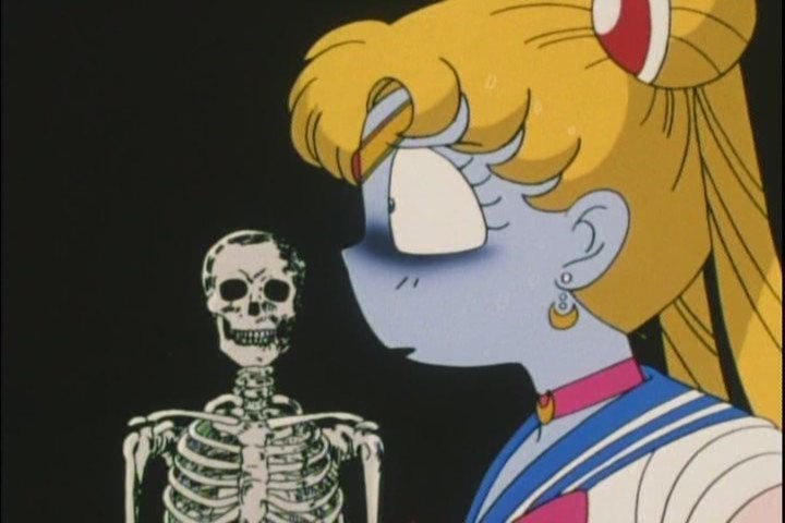 Im completely on Sailor Moons side here, that thing is pretty creepy. Add a small girls voice and its terrifying