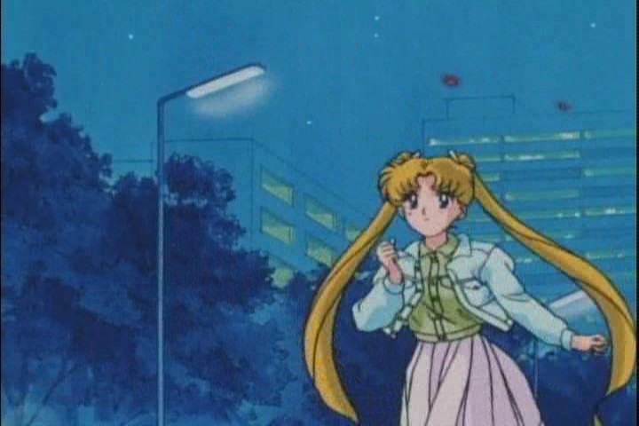 RUN, Usagi. Run for LOVE. Not sure how you know where to go though. It must be LOVE
