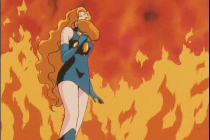 """""""GYA YA YA *hack* *hack* all this acrid smoke cant be good for my throat."""""""
