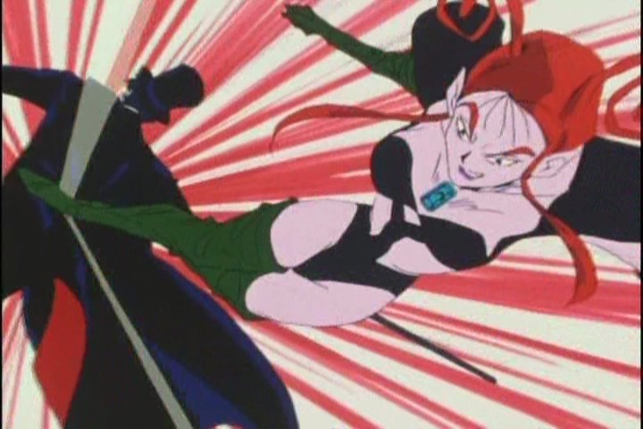 Anyone who kicks Tuxedo Kamen in the back is ace in my books