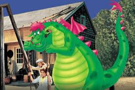 Pete's Dragon was, in fact, more threatening than Esmeraude, though they shared the same haircut