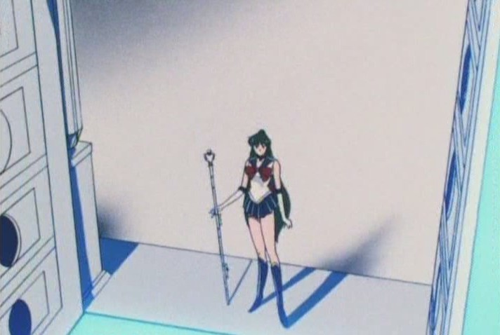 Sailor Pluto, the solitary senshi