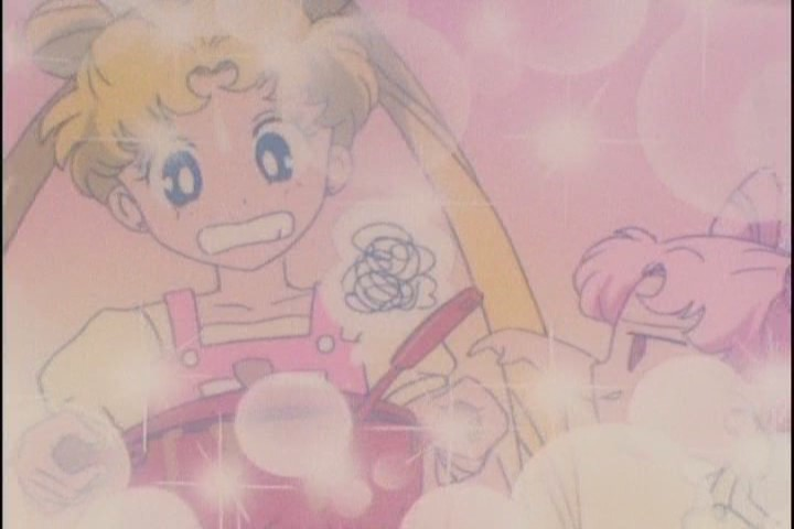 Yeah, this was the fondest memory Chibi-Usa had for Usagi, apparently. So nice