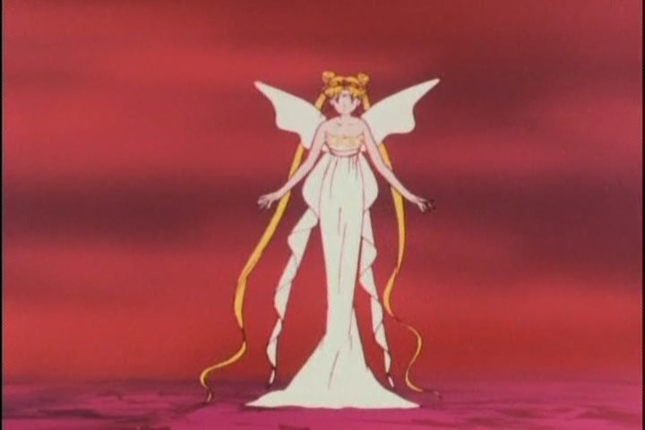Pretty sure she's not... all there, Chibi-Usa. Proceed with caution