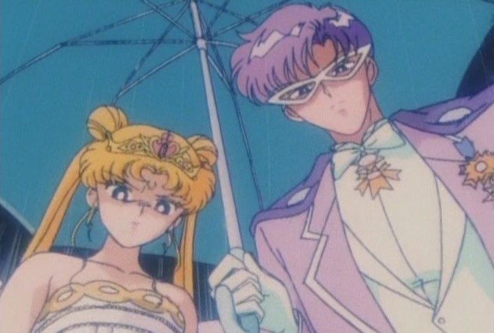 Evil Neo Queen Serenity and Endymion