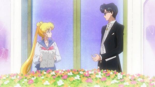 Sailor Moon Crystal - Usagi meets Mamoru