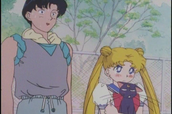 Seeing his normal unflappable cockiness pricked by Usagi's frantic father was brilliant