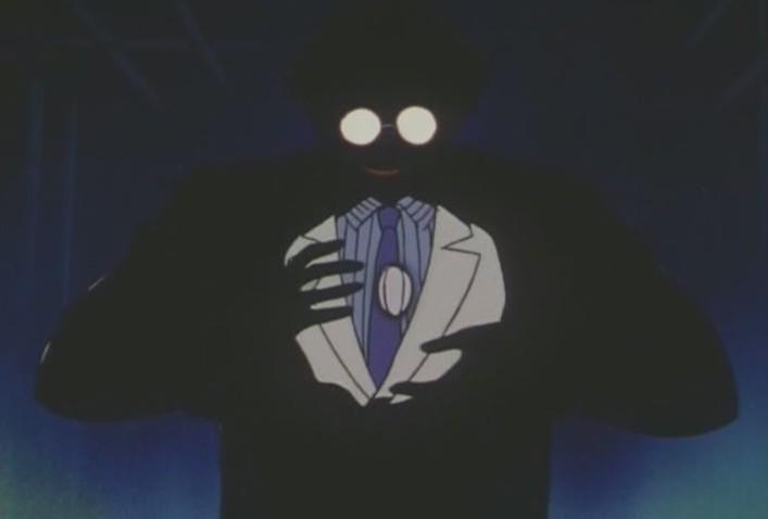 Professor Tomoe creates a Daimohn egg