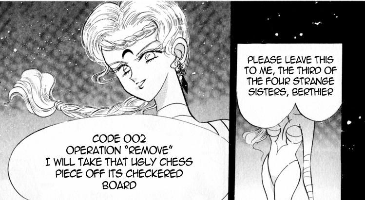 Dude, she's not fucking around in the manga. She's pretty scary