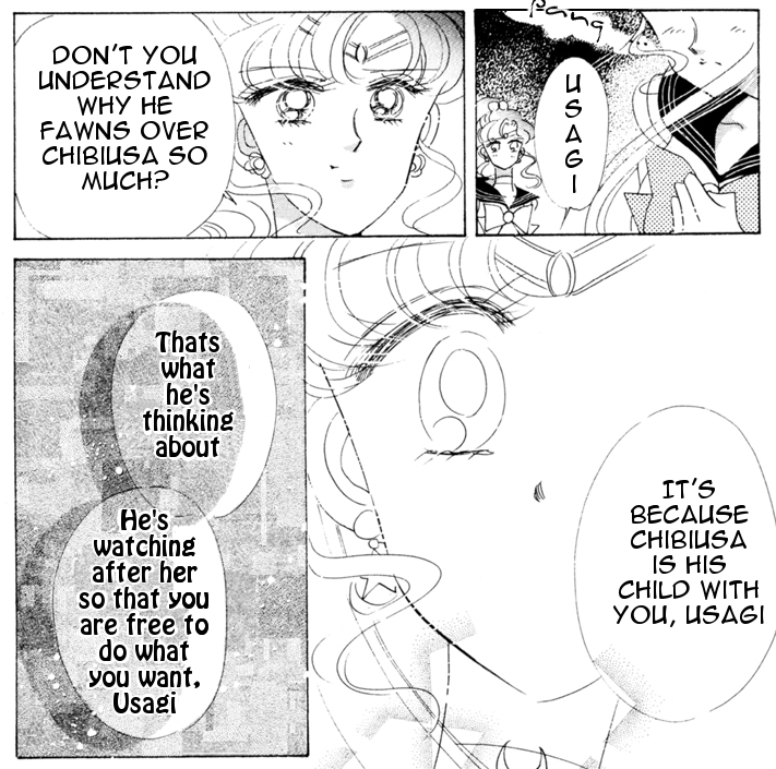 That she had to have this explained to her... and that it's once again all about Sailor Moon's emo feelings... *eye roll*