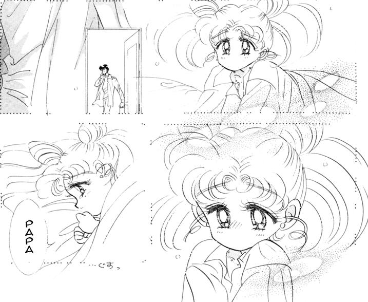 She's so infinitely more a victim in the manga