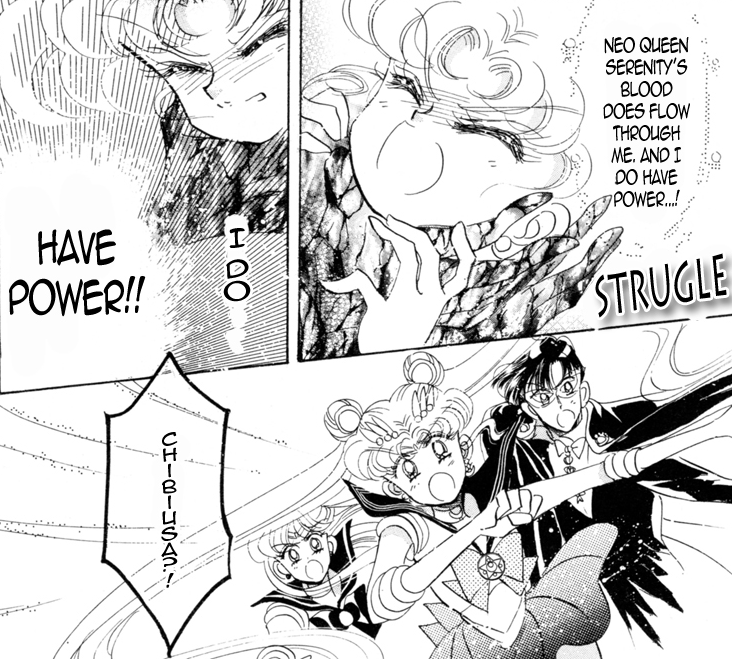 Wow this is pretty violent stuff. Esmeraude got a lot closer to actual doing something worthwhile in the manga