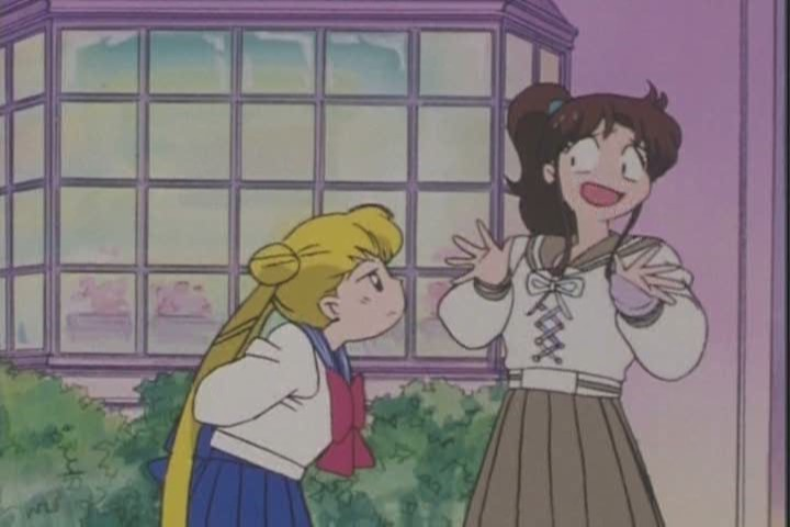 Hey, Usagi, you two aren't exclusive. She's allowed to play the field