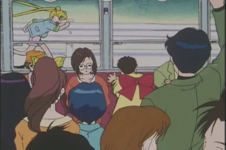 "Mamoru's reaction: ""Oh well."" Such a great boyfriend"
