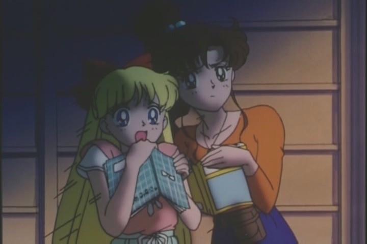 Minako and Makoto shocked