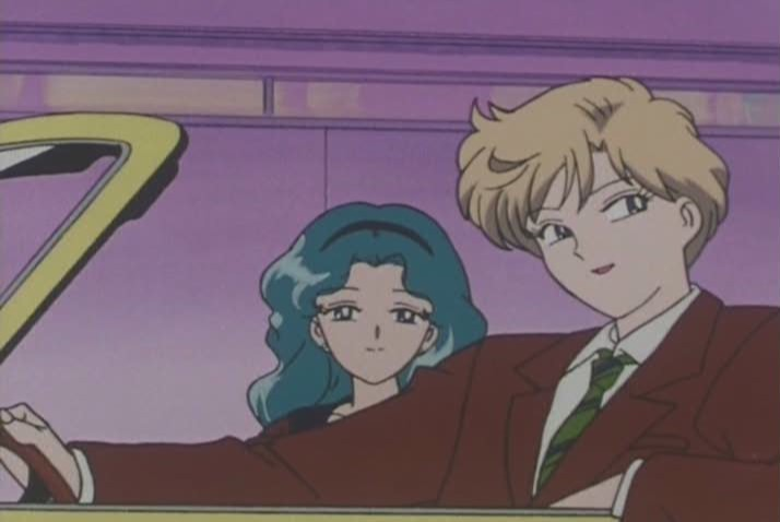 This plays off so strongly like Haruka trying to pick up a younger chick. She's like Matthew McConaughey in Dazed and Confused