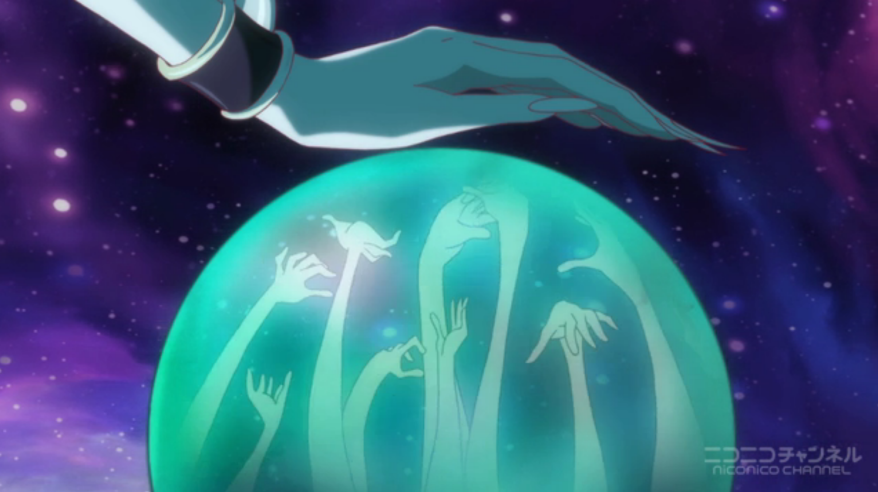 Sailor Moon Crystal - Beryl and her crystal ball