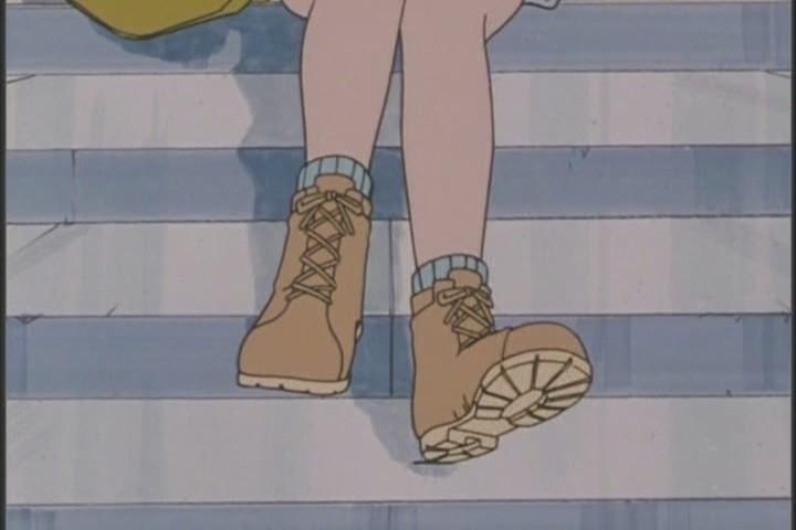 You ROCKIN those boots, Ami