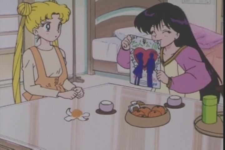 """...I think Ill go ask Minako instead..."""