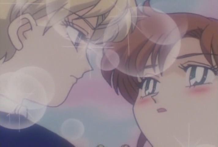Haruka and Makoto very close