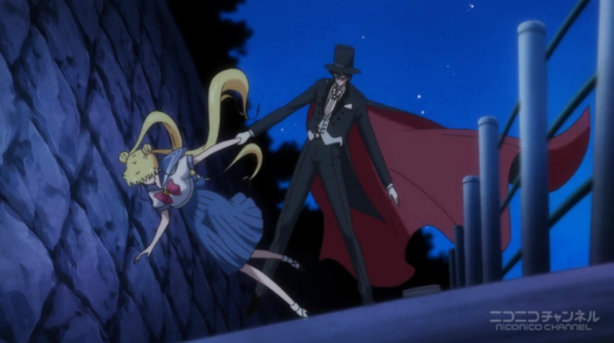 Sailor Moon Crystal - Usagi faints