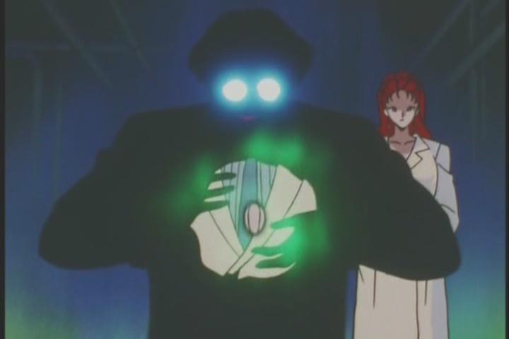 Professor Tomoe presents his strongest Daimohn to Kaorinite