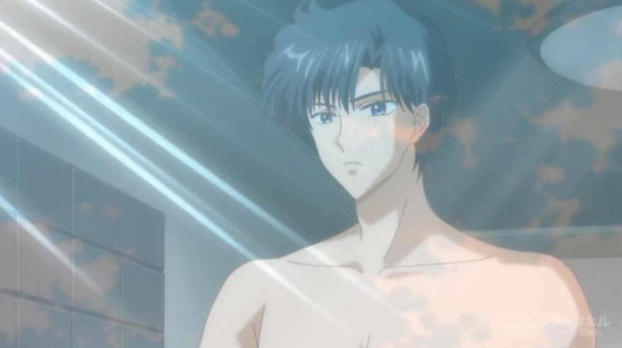 Sailor Moon Crystal - Mamoru topless