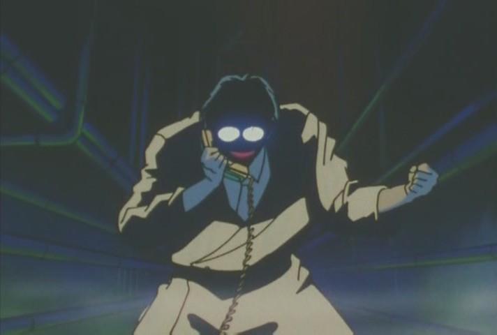 Professor Tomoe on the phone