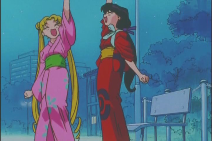 I feel like moments like these mean more from Rei, since she spends most of her time lightly abusing Usagi