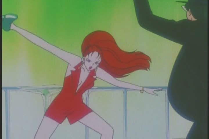 Still, she got to kick Tuxedo Kamen's ass at least twice, so there's that