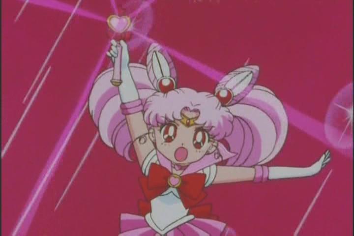 Sailor Chibi-Moon's Pink Sugar Heart Attack