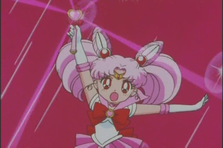 Sailor Chibi-Moon's Pink Sugar Heart Attack