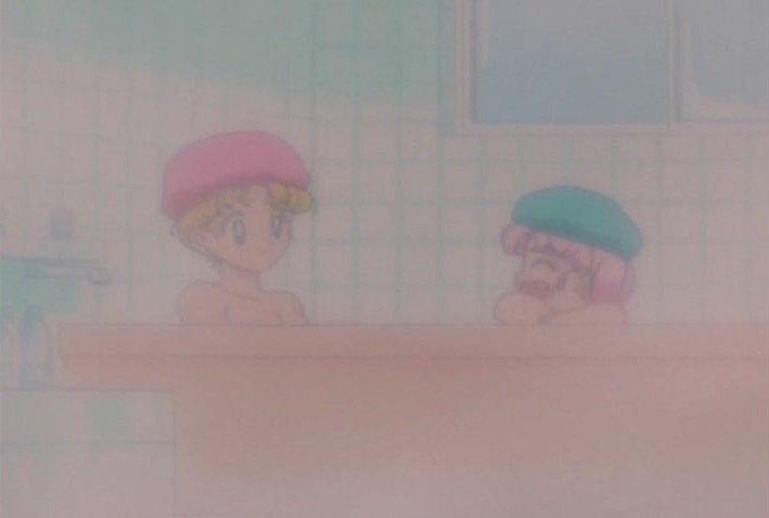 This is like the 6th time weve seen Usagi taking a bath. Who are they giving fanservice to exactly?