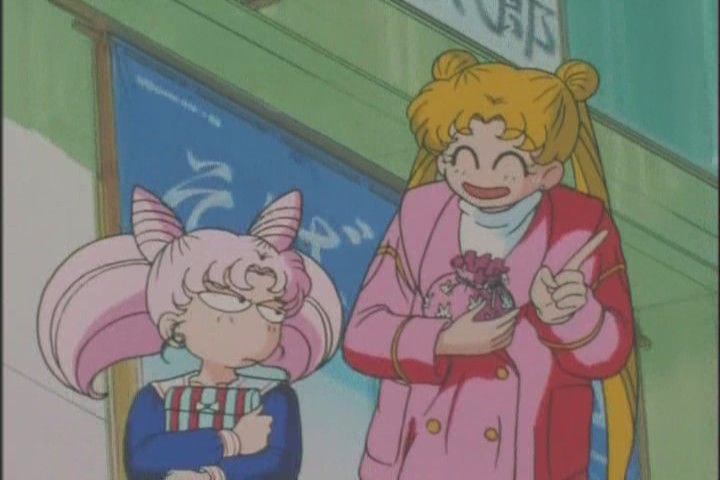 Hey Usagi, arent you... studying for your entrance exams? You have time to follow Chibi-Usa around?